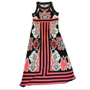 Blooming Rose Maxi Dress Size X-Large